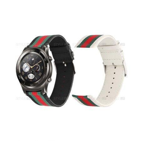 خرید بند ساعت هواوی واچ Huawei Watch 2 Classic طرح GUCCI
