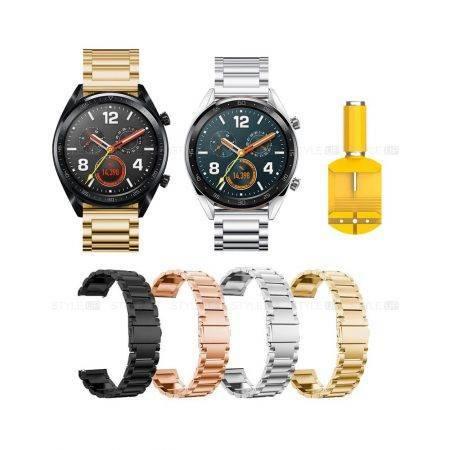 خرید بند ساعت هواوی واچ Huawei Watch GT استیل 3Pointers