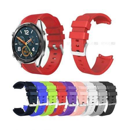 خرید بند ساعت هواوی واچ Huawei Watch GT سیلیکونی طرح گلکسی