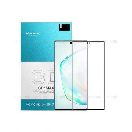 خرید گلس نیلکین گوشی سامسونگ Note 10 Plus مدل CP+ Max