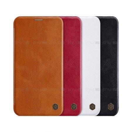 خرید کیف چرمی نیلکین گوشی اپل آیفون 11 - iPhone 11 مدل Qin