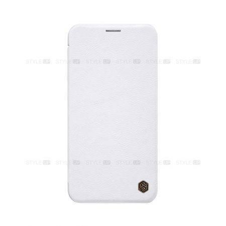 خرید کیف چرمی نیلکین گوشی آیفون iPhone 11 Pro Max مدل Qin