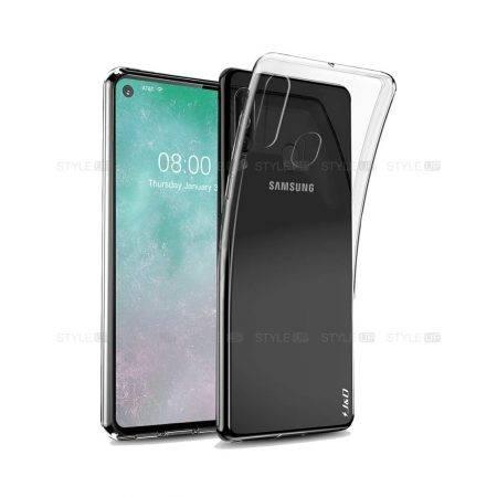 خرید قاب گوشی سامسونگ Galaxy A60 مدل ژله ای شفاف