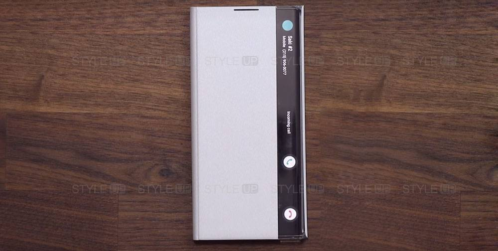 خرید کیف هوشمند گوشی سامسونگ Galaxy Note 10 Plus Clear View
