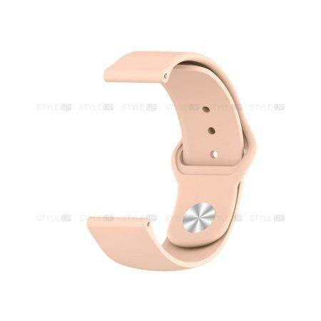خرید بند سیلیکونی ساعت سامسونگ Galaxy Watch 42mm مدل دکمه ای