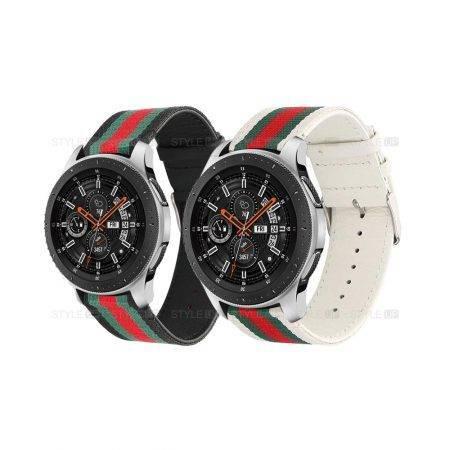 خرید بند ساعت سامسونگ Galaxy Watch 46mm طرح GUCCI
