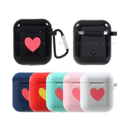 خرید کاور سیلیکونی اپل ایرپاد Apple Airpods طرح Love