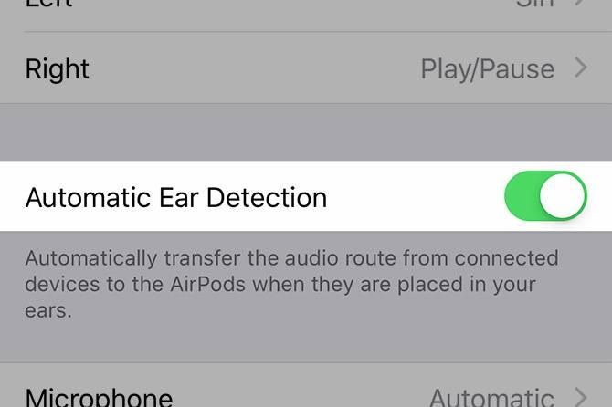 سنسور تشخیص گوش ایرپاد ا