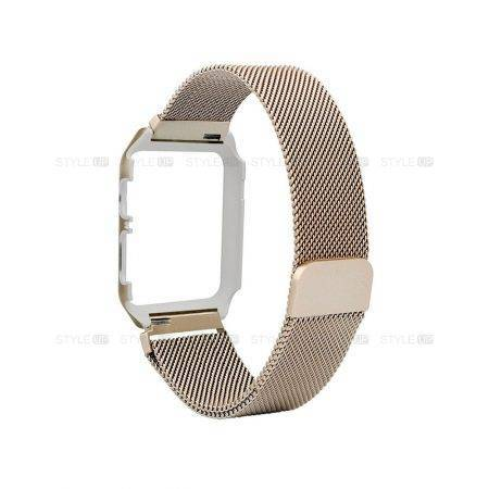 خرید بند قاب دار اپل واچ 4 مدل Apple Watch 44mm Steel Milanese