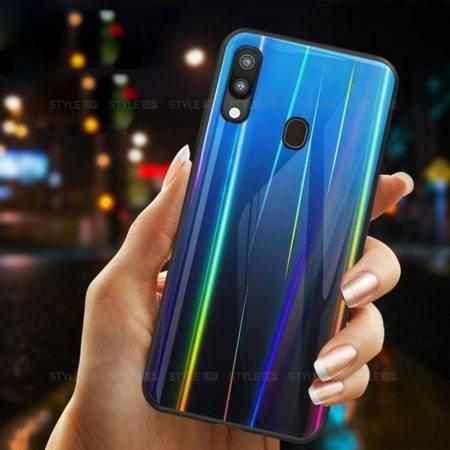 خرید قاب لیزری گوشی سامسونگ Samsung M20 مدل رنگین کمان