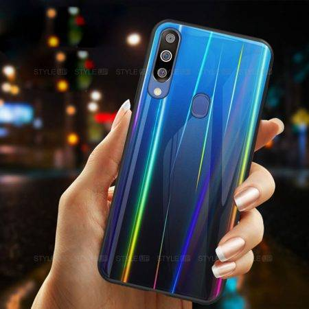 خرید قاب لیزری گوشی سامسونگ Samsung M30 مدل رنگین کمان