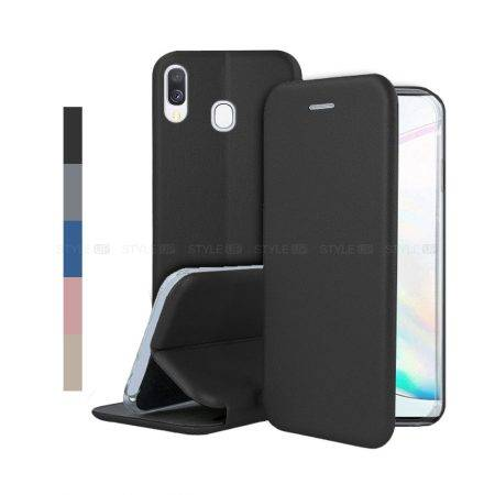 خرید کیف کلاسوری چرمی گوشی سامسونگ Samsung Galaxy A40