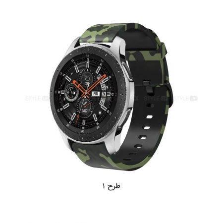 خرید بند طرح دار ساعت هوشمند سامسونگ Galaxy Watch 46mm