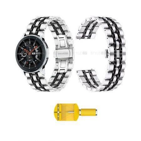 خرید بند ساعت هوشمند سامسونگ Galaxy Watch 46mm مدل استیل Rolex