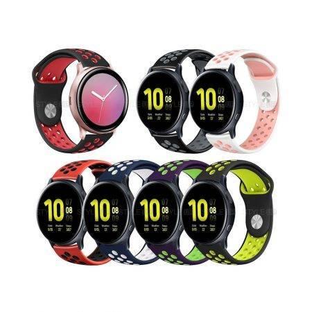 خرید بند ساعت هوشمند سامسونگ Galaxy Watch Active 2 سیلیکونی نایکی
