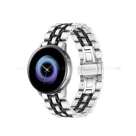 خرید بند ساعت هوشمند سامسونگ Galaxy Watch Active مدل استیل Rolex