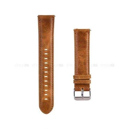 خرید بند ساعت سامسونگ Galaxy Watch Active 2 چرمی Genuine Leather