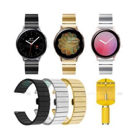 خرید بند ساعت هوشمند سامسونگ گلکسی واچ اکتیو Active2 استیل One Bead
