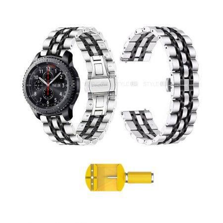 خرید بند ساعت هوشمند سامسونگ Samsung Gear S3 مدل استیل Rolex