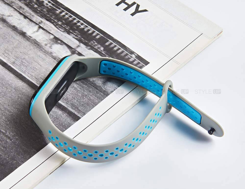 خرید بند سیلیکونی مچ بند می بند 4 - Mi Band 4 مدل نایکی