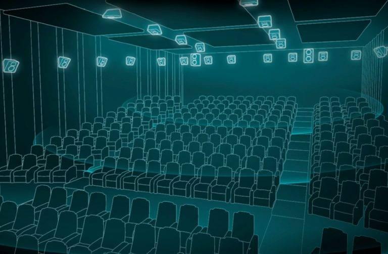 سینمای Dolby Atmos