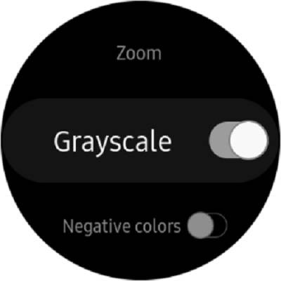 فعال کردن نمایشگر رنگی در ساعت هوشمند سامسونگ