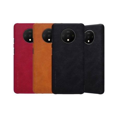 خرید کیف چرمی نیلکین گوشی وان پلاس Oneplus 7T مدل Qin