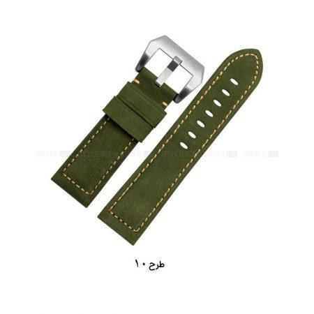 خرید بند چرمی ساعت شیائومی Amazfit Stratos مدل Horse Leather