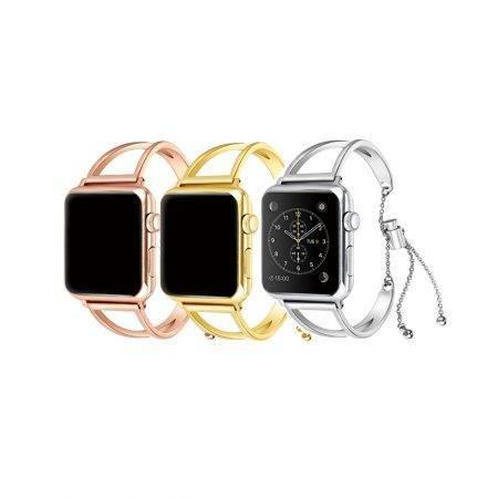 خرید بند ساعت هوشمند اپل واچ 38/40mm مدل استیل Urvoi