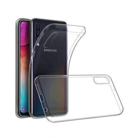 خرید قاب گوشی سامسونگ Samsung Galaxy A70s مدل ژله ای شفاف