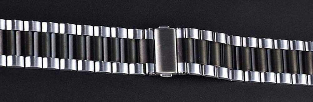 خرید خرید بند ساعت سامسونگ Galaxy Watch Active 2 استیل دو رنگ
