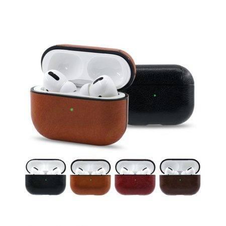 خرید کیف هندزفری ایرپاد پرو Apple airpods pro مدل چرمی