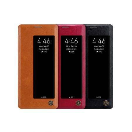 خرید کیف چرمی نیلکین گوشی هواوی میت Mate 30 Pro مدل Qin