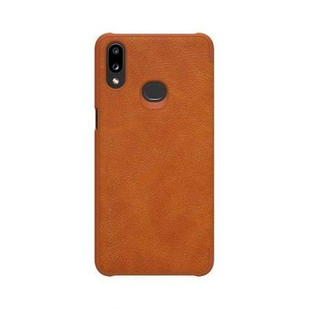 خرید کیف چرمی نیلکین گوشی سامسونگ Samsung A10s مدل Qin
