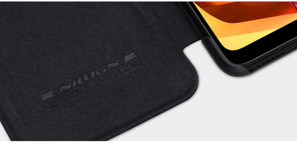 خرید کیف چرمی نیلکین گوشی سامسونگ Samsung A20s مدل Qin