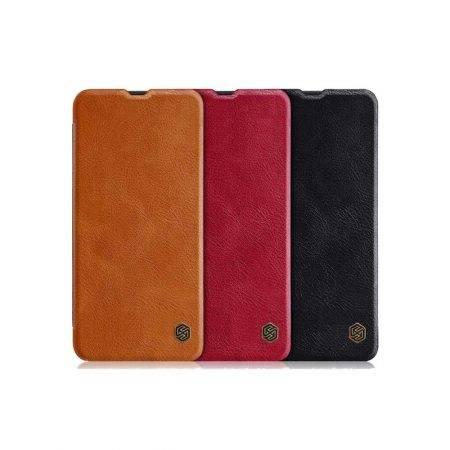 خرید کیف چرمی نیلکین گوشی سامسونگ A30s / A50s مدل Qin
