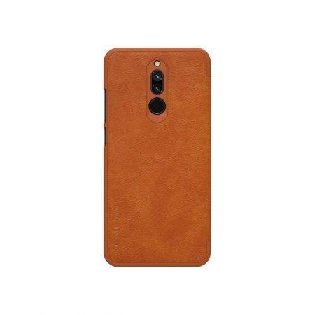 خرید کیف چرمی نیلکین گوشی شیائومی Xiaomi Redmi 8 مدل Qin