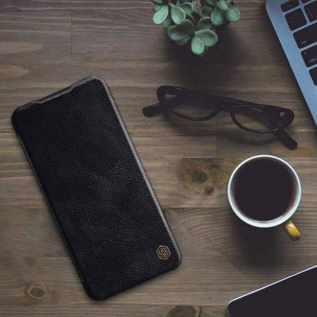 خرید کیف چرمی نیلکین گوشی شیائومی Redmi Note 8 مدل Qin