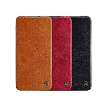 خرید کیف چرمی نیلکین گوشی شیائومی Redmi Note 8 Pro مدل Qin