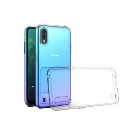 خرید قاب گوشی سامسونگ Samsung Galaxy A01 ژله ای شفاف