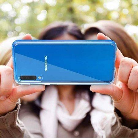 خرید قاب گوشی سامسونگ Samsung A30s / A50s مدل ژله ای شفاف
