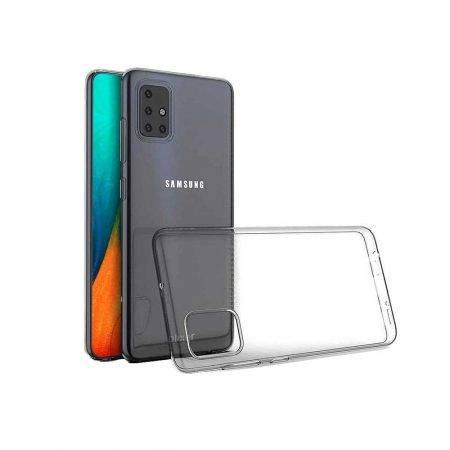 خرید قاب گوشی سامسونگ Samsung Galaxy A71 ژله ای شفاف