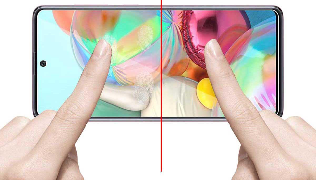 خرید گلس گوشی سامسونگ Samsung Galaxy A71 مدل تمام صفحه