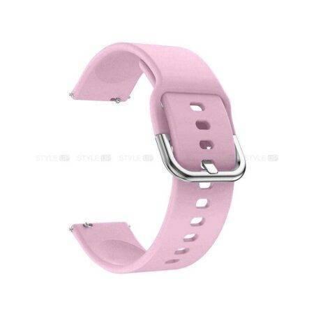 خرید بند سامسونگ Galaxy Watch Active سیلیکونی طرح اصلی