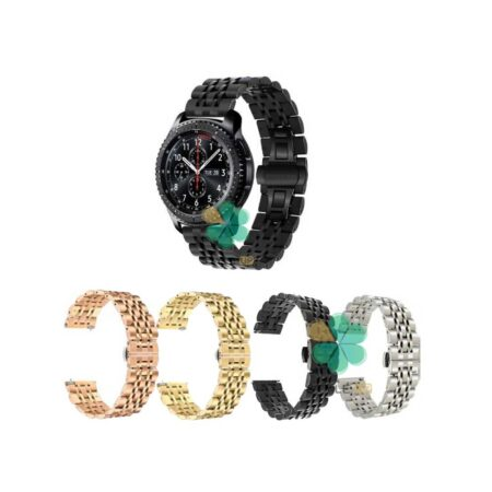خرید بند استیل دو رنگ ساعت سامسونگ Gear S3