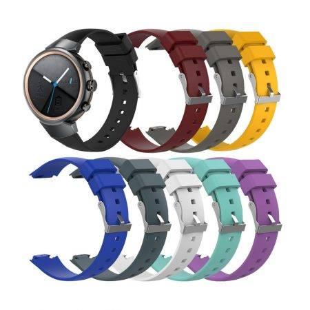 خريد بند ساعت هوشمند ایسوس Asus Zenwatch 3 مدل سیلیکونی