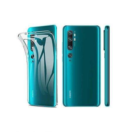 خرید قاب گوشی شیائومی Xiaomi Mi Note 10 ژله ای شفاف