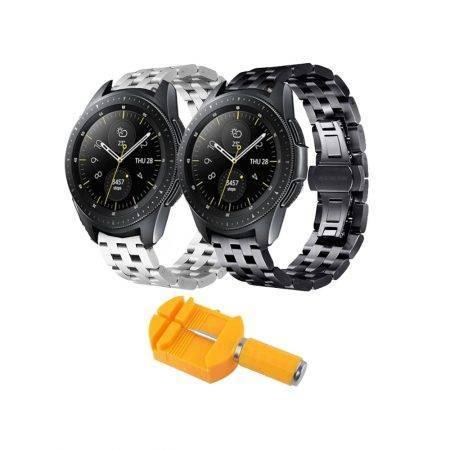 خرید بند ساعت هوشمند سامسونگ Galaxy Watch 42mm استیل 5Bead
