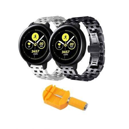 خرید بند ساعت هوشمند سامسونگ Galaxy Watch Active استیل 5Bead