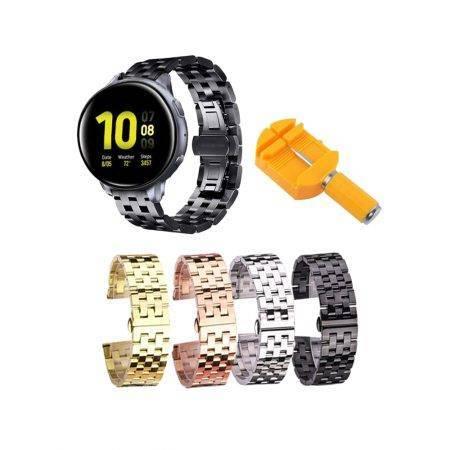 خرید بند ساعت هوشمند سامسونگ Galaxy Watch Active 2 استیل 5Bead